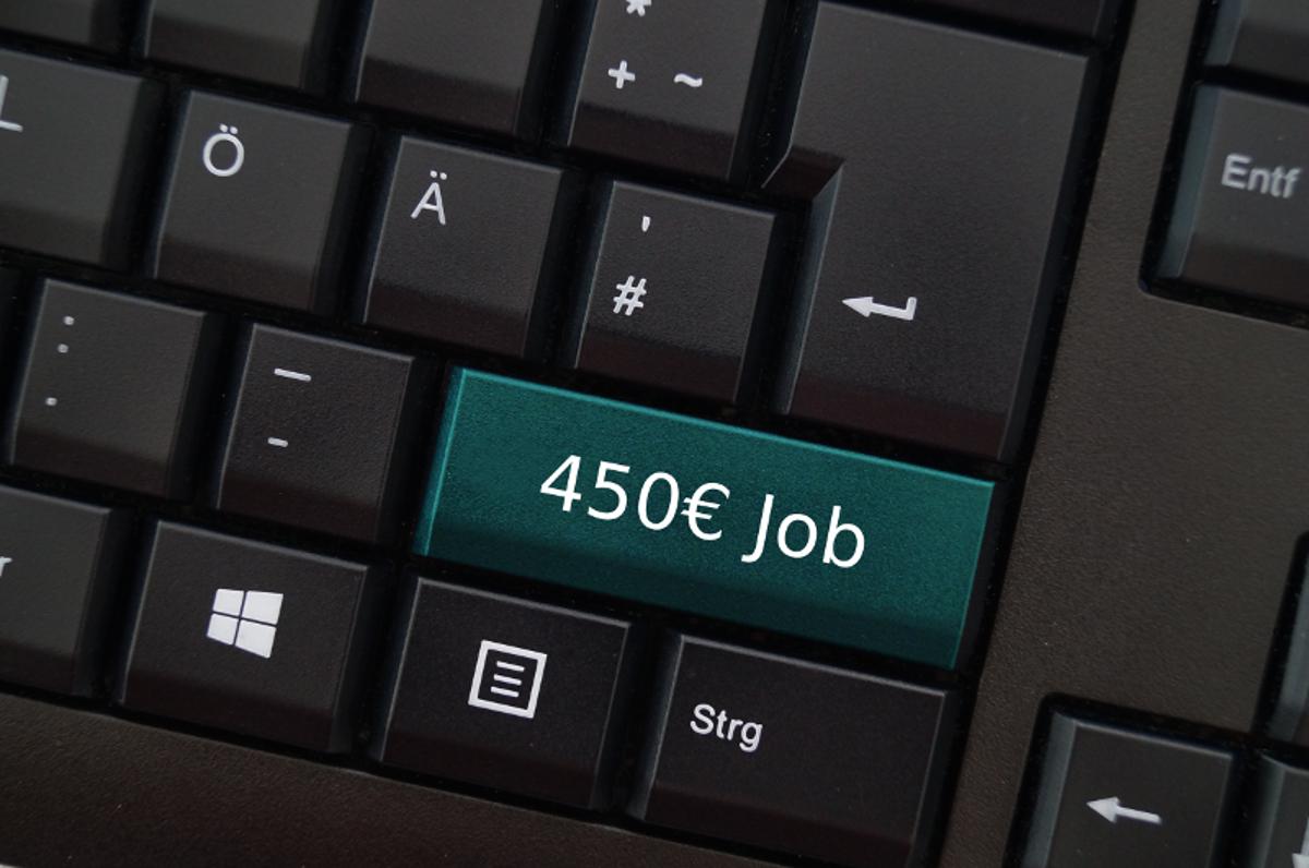 Tastatur mit 450-uro-ob-Taste