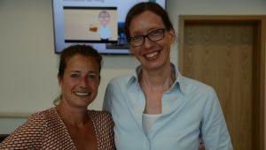 Sandra Nikodem und Inge Engel (v.l.)