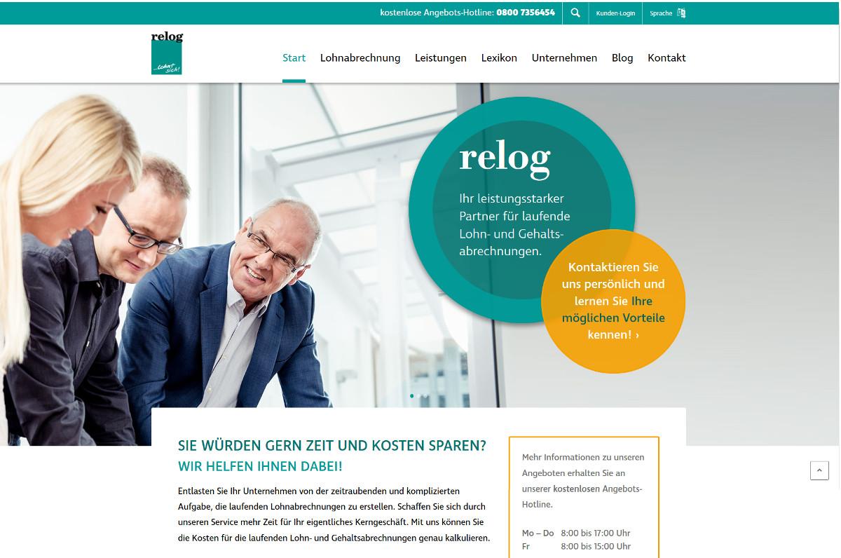 relog Website