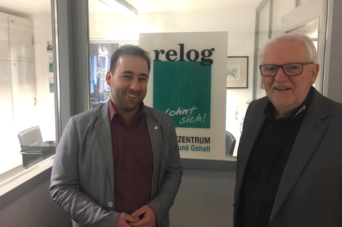 Johannes Schraper und Dieter Czudnochowski