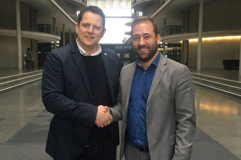 Martin Czudnochowski besucht Bundestag