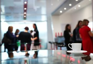 Kaffepause im Büro